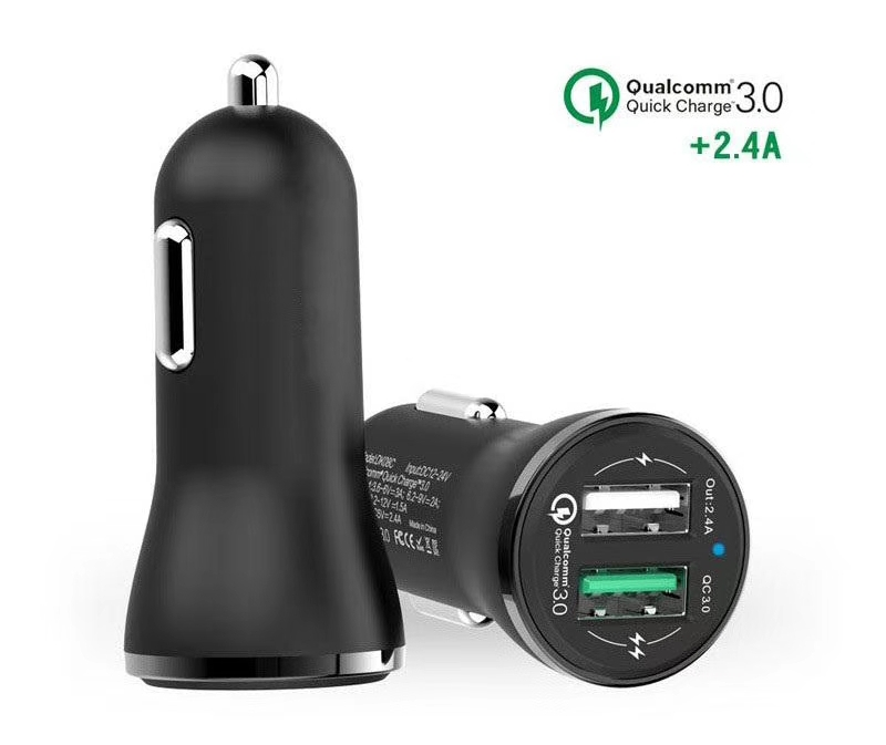 QC3.0 + 2.4A Quick Car charger